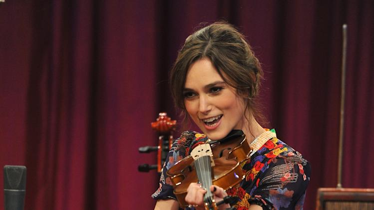 "Keira Knightley Visits ""Late Night With Jimmy Fallon"""