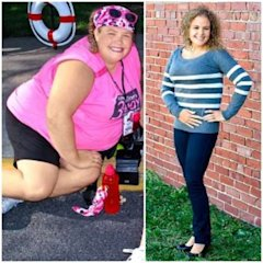 This mom made some important and healthy life changes.