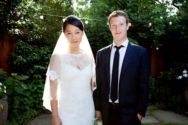 Mark Zuckerberg Get Priscilla Chan Married! And He Didn't Wear A Hoodie.