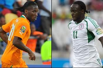 Nigeria 2-1 Cote d'Ivoire: Super Eagles upset Elephants to earn AFCON semifinal clash with Mali