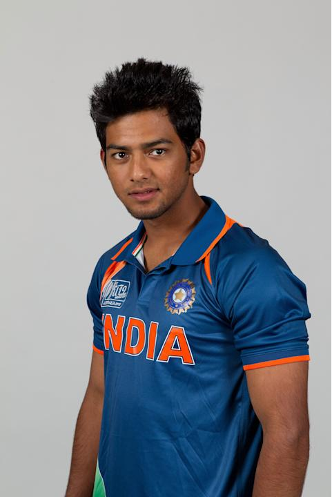 (India at U-19 World Cup) ICC U19 Cricket World Cup - India Portrait Session