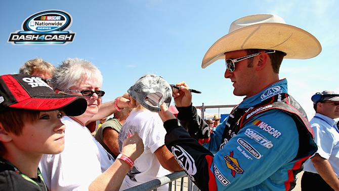 Dillon nears first win, gets second Dash 4 Cash