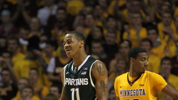 NCAA Basketball: Michigan State at Minnesota