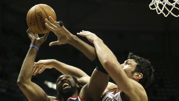 Gortat, Wall lead Wizards over Bucks in OT, 100-92