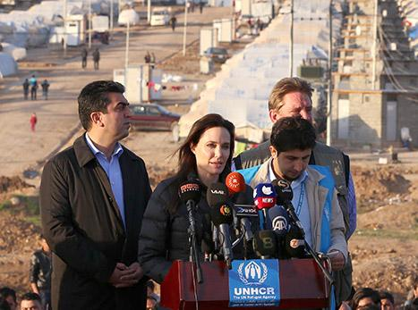 """Angelina Jolie Writes Impassioned New York Times Op-Ed About Iraq Trip, Syrian Refugees: """"I Was Speechless"""""""