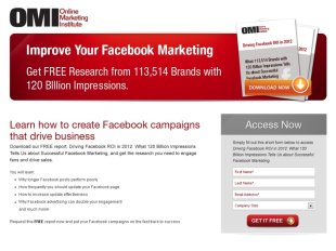 5 Ways to Improve B2B Landing Pages image B2B landingpage example