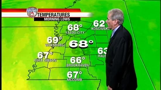 Wednesday Evening Forecast 0417