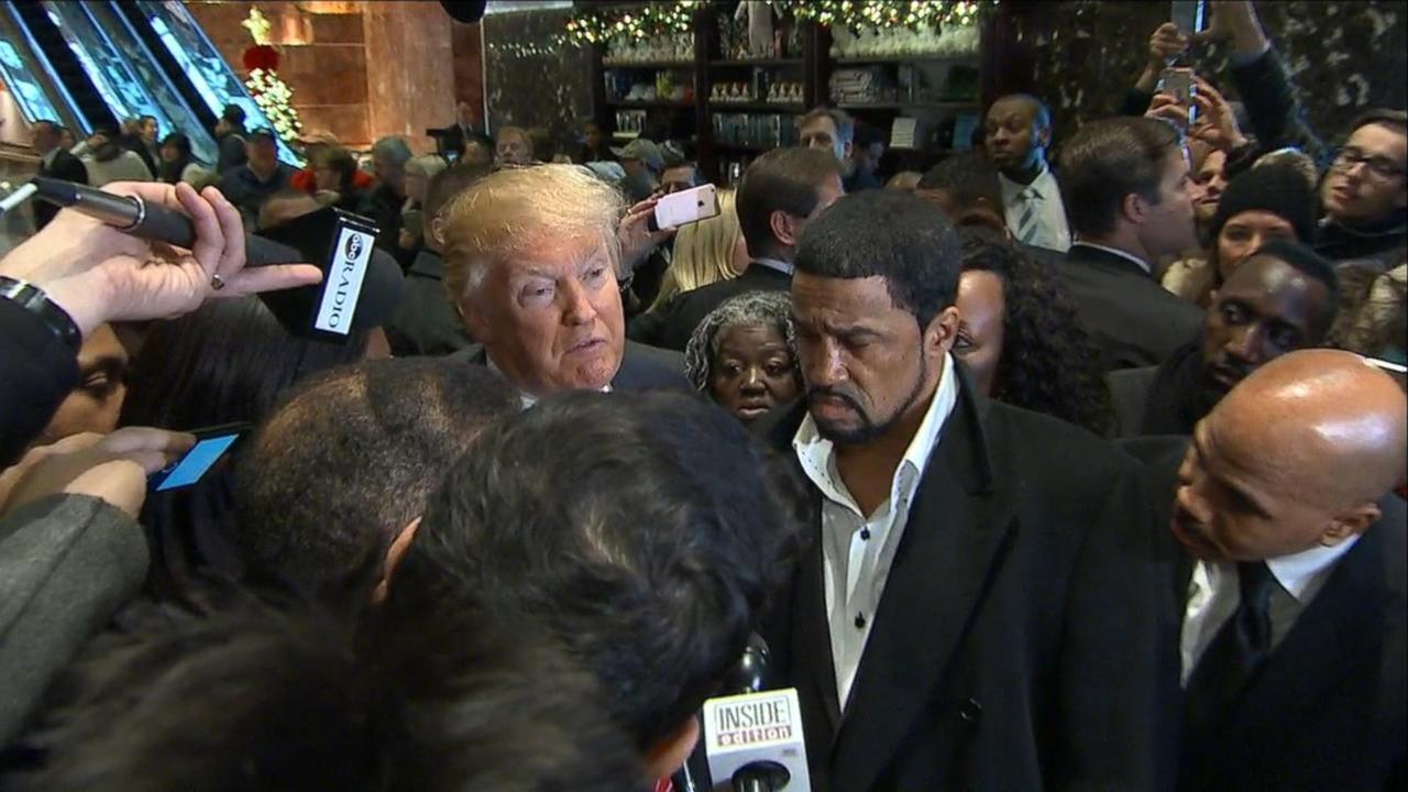 Trump says meeting with U.S. black clergy went 'very well'