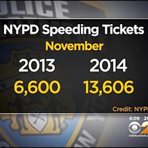 Speeding Tickets On The Rise In NYC After Speed Limit Lowered