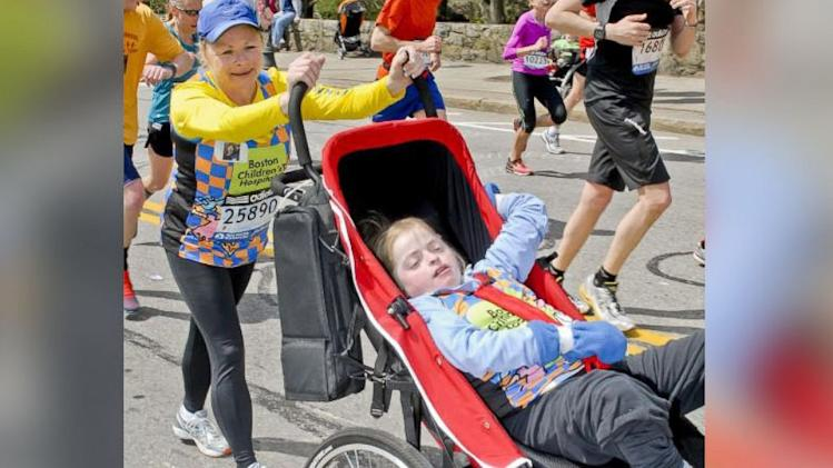 Mom Tells Disabled Daughter Boston Marathon Bombs are Fireworks at Finish Line