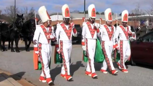 FAMU Hazing Suspects Escorted Robert Champion's Casket at Funeral
