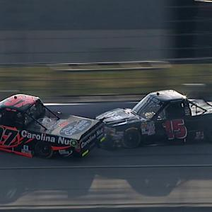 Little's debut ends in wreck with Mingus