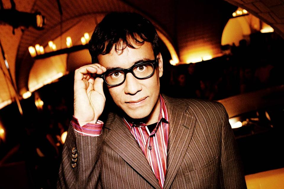 Fred Armisen performs in Saturday Night Live on NBC.