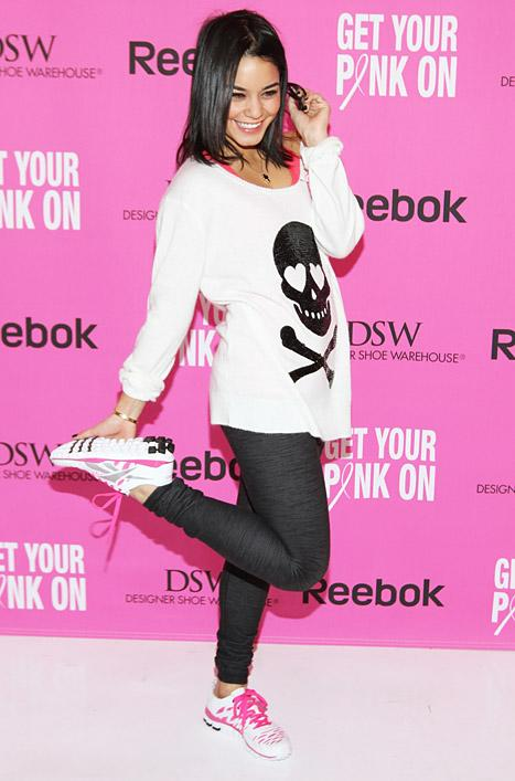 Vanessa Hudgens Fights Breast Cancer With Reebok