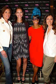 Countess Luann De Lesseps, Christy Turlington Burns, Celebrity Stylist June Ambrose, Melissa Meyers