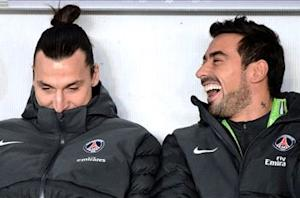 Lavezzi: Ibrahimovic not an ogre