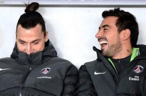 Lavezzi: Ibrahimovic not an ogre