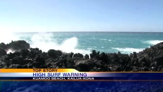 High surf prompts rescues and closures