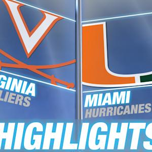 Virginia vs Miami | 2015 ACC Women's Tournament Highlights