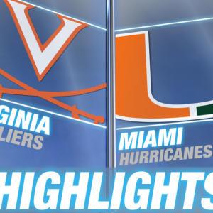 Virginia vs Miami | 2015 ACC Women's Tournament Highlights