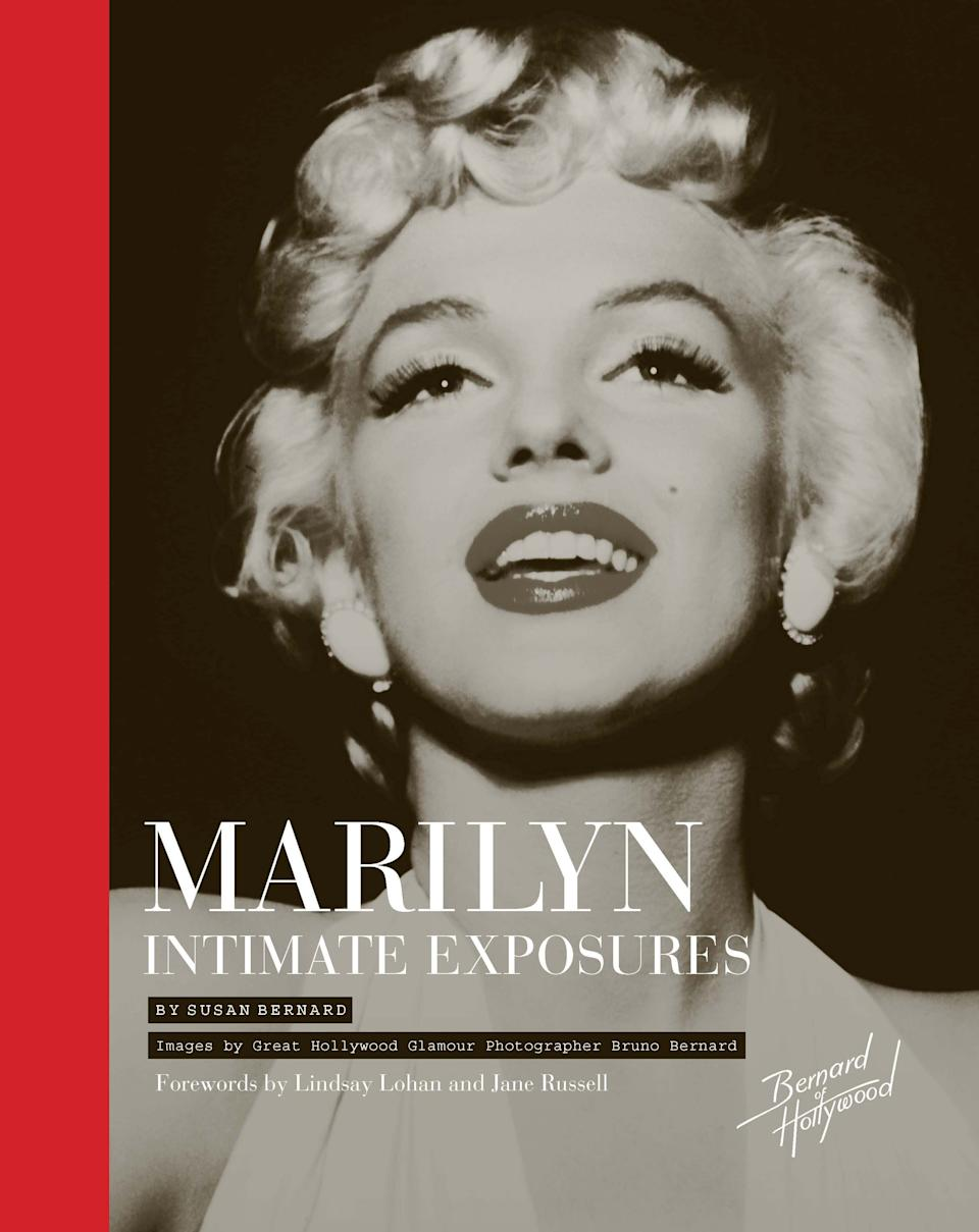"This book cover image released by Sterling Publishing shows ""Marilyn Intimate Exposures,"" by Susan Bernard. (AP Photo/Sterling Publishing)"