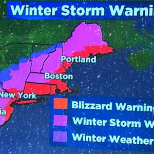Weather forecast: Blizzard threatens Northeast