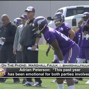 NFL Media's Marshall Faulk: NFL might get torn up by Minnesota Vikings running back Adrian Peterson