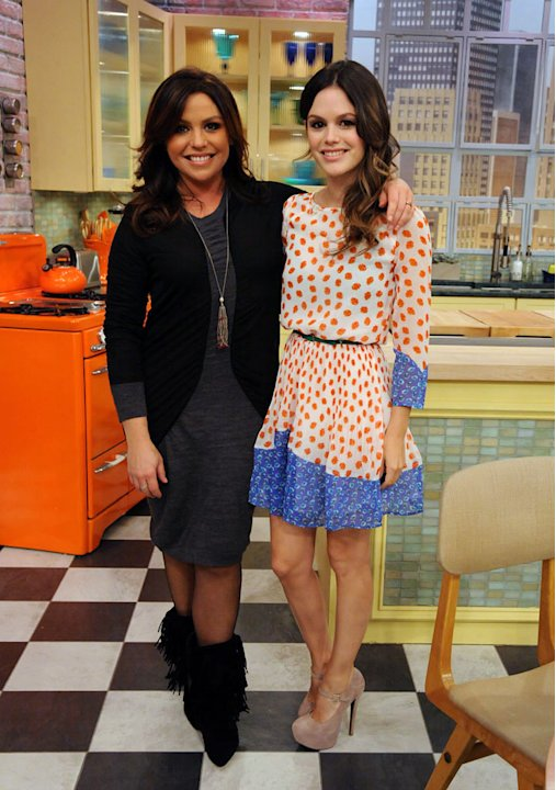 Rachael Ray and Rachael Bilson on &quot;The Rachael Ray Show.&quot; 