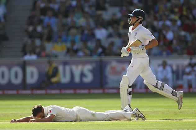 Fourth Test - Australia v England: Day One