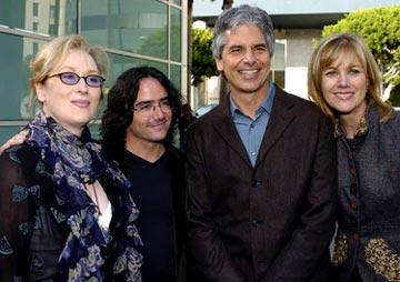 Meryl Streep , director Brad Silberling , producers Walter F. Parkes and Laurie MacDonald at the Hollywood premiere of Paramount Pictures' Lemony Snicket's A Series of Unfortunate Events