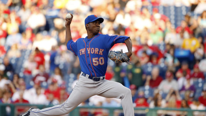 Brignac's single in 14th lifts Phils over Mets 6-5