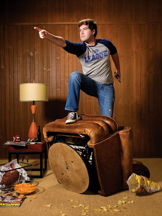 "Mark Duplass in ""The League."""