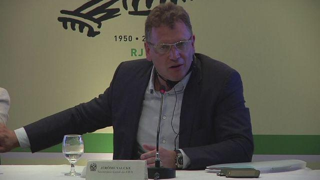 Valcke: 'The World Cup is the diamond of FIFA'