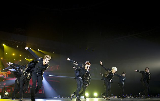 Super Junior get energetic …