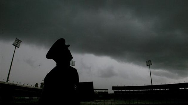 Cricket ground in the dark (Reuters)