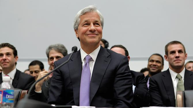 JP Morgan Chase CEO Jamie Dimon Testifies At House Financial Services Hearing