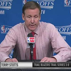 Trail Blazers on Game 3 Loss