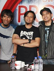 Peterpan Umumkan Nama Baru Saat Launching Album