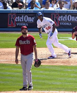 Puig hits 3-run HR as Dodgers beat Diamondbacks