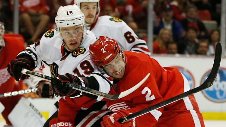 Chicago Blackhawks v Detroit Red Wings - Game Four