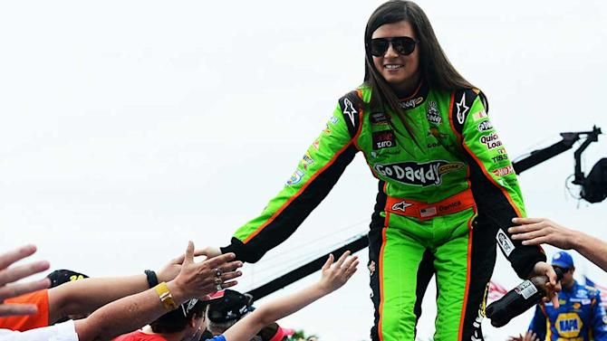 Danica earns respect of fellow drivers in 500