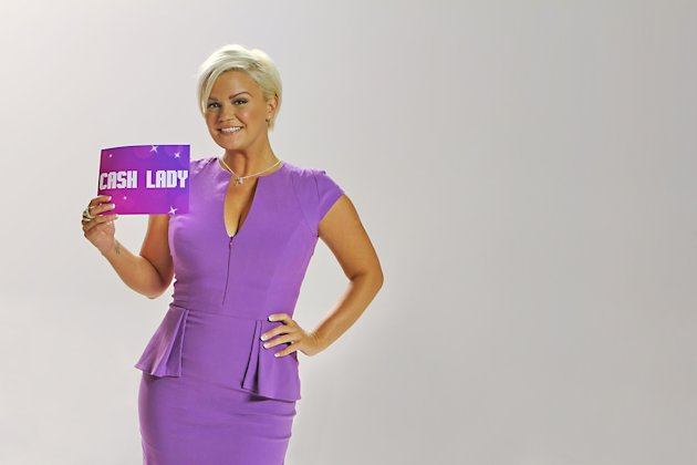 Kerry Katona fronting cashlady.co.uk