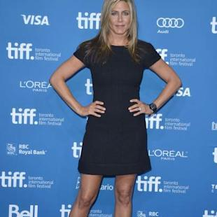 Jennifer Aniston attends the 'Life Of Crime' Press Conference during the 2013 Toronto International Film Festival at TIFF Bell Lightbox on September 14, 2013 in Toronto -- Getty Images