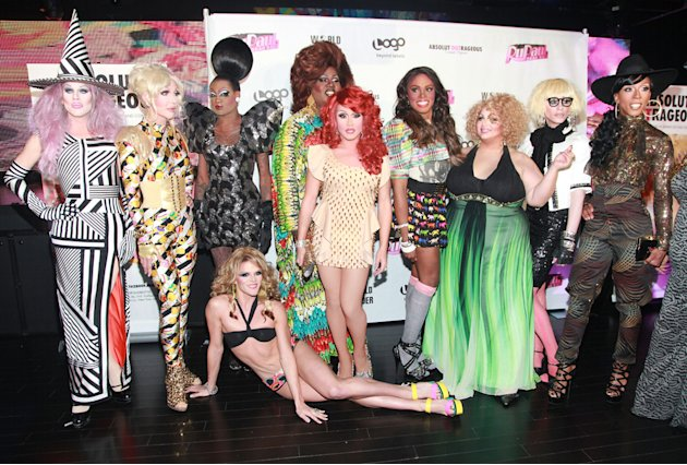The cast of 'RuPaul's Drag …