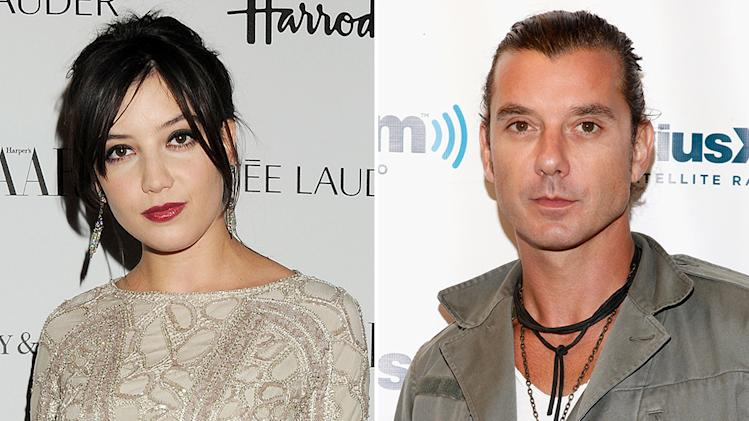 Gavin Rossdale and Daisy Lowe
