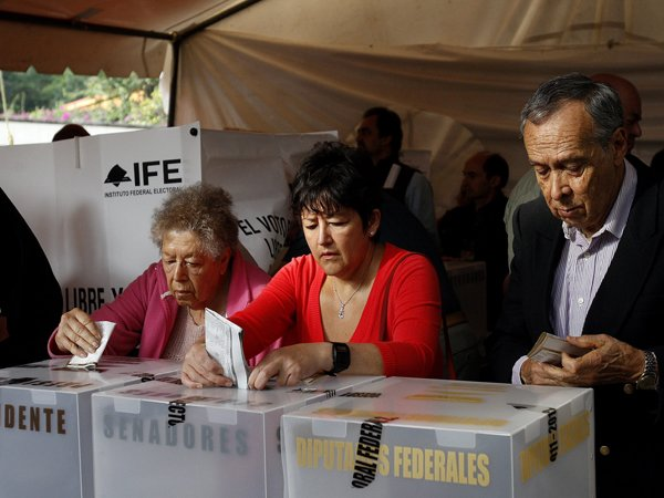 Mxico: un tercio de los votos ir a recuento