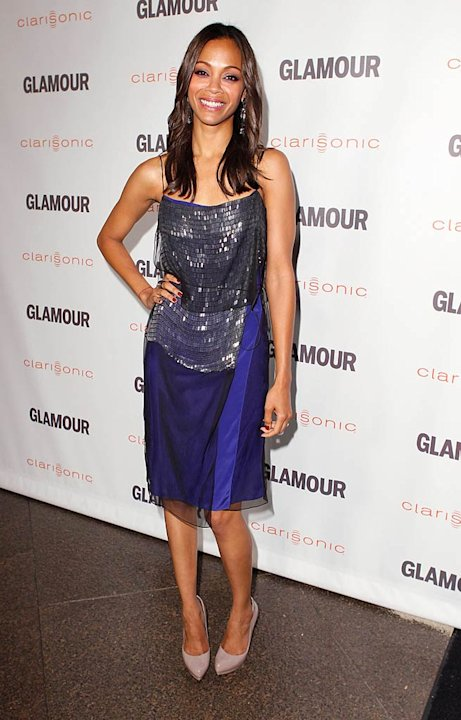 Zoe Saldana Glamour Reel Awards