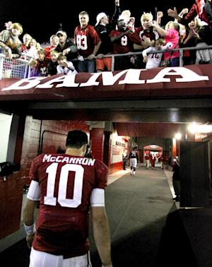 Alabama and Florida State top 1st BCS standings