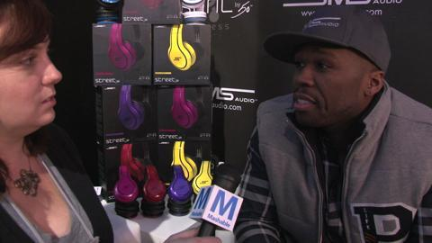 CES 2013:  50 Cent Loves CES, Timbaland, Headphones, Not Getting Shot