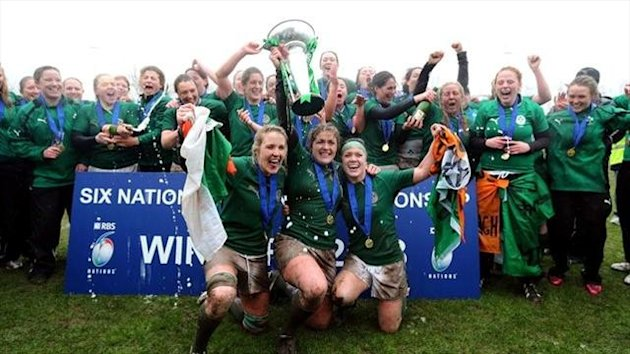 Ireland women win the 2013 Six Nations